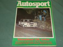 AUTOSPORT 1978 December 11 Rally Review, Stuart Graham,MkII RS Escorts